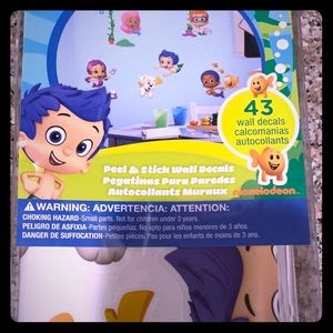 Bubble Guppies wall decals